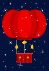 Mongolfiera Natale
