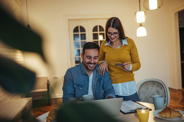 Taking care of home expenses