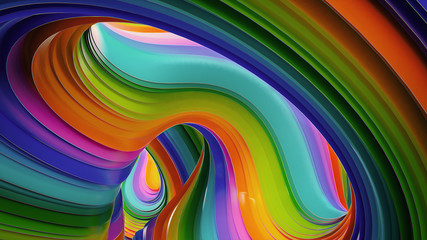 Colorful abstract background. Layout design template. Fotoväggar