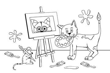 Zwei talentierte Künstler!
