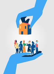Case per il popolo