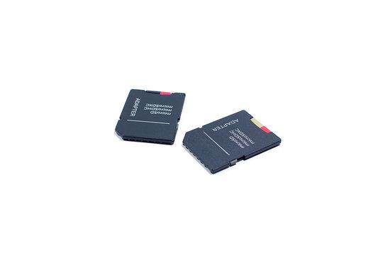 Micro SD Card with Micro SD Card to SD Card Adapter