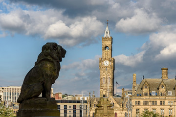 Lion Statue Bradford UK