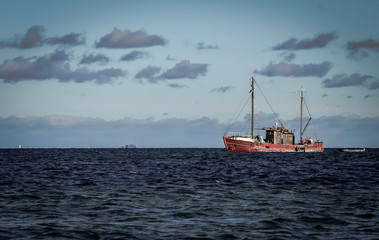 Danish fishing boat
