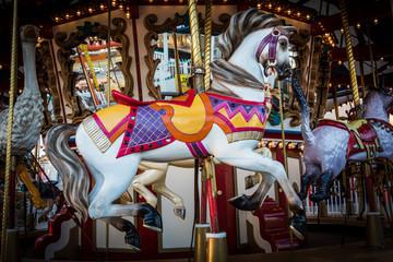 Classic Merry-Go-Round Horse