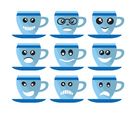 Coffee cup Emoji emoticon expression