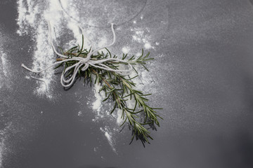 Rosemary, ingredient for perfect Christmas
