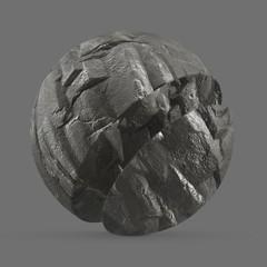 Grey rocky cliff