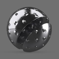 Medium metal grater