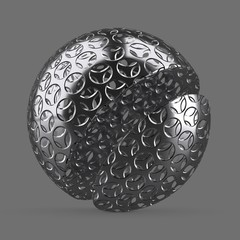 Small straight round mesh