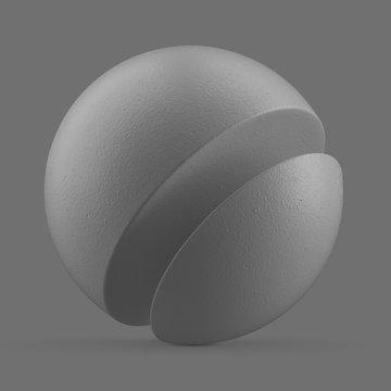Grey painted metal