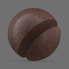 Wet brown rust