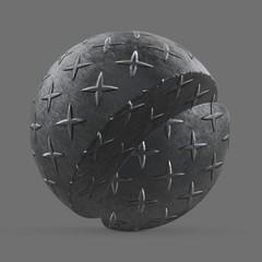 Single cross metal pattern