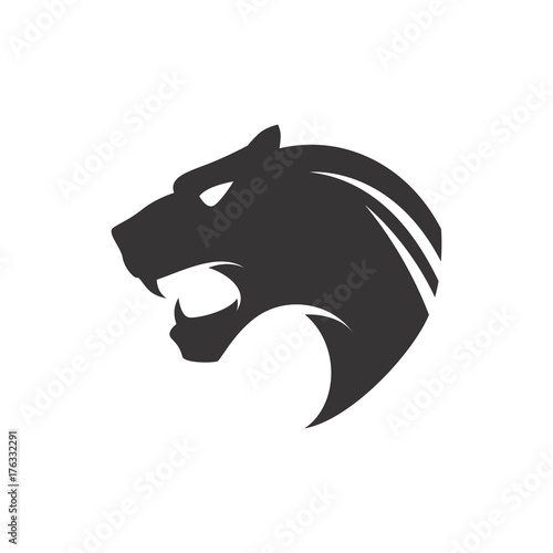 black panther logo stock image and royalty free vector files on