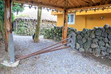 Jeju Island Traditional Gate