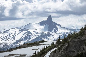 Black Tusk Mountain in British Columbia Summer
