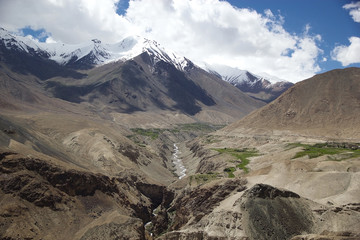 Landscape in Nubra Valley, Ladakh, India