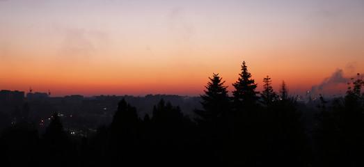 colorful sunrise photo