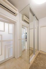 Apartment interior - entrance, closet area