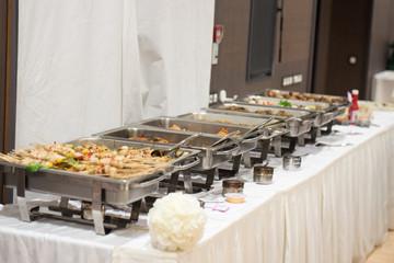 Buffet, repas