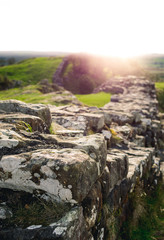 Sunflare at Hadrian's Wall