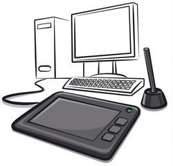 digital graphics tablet