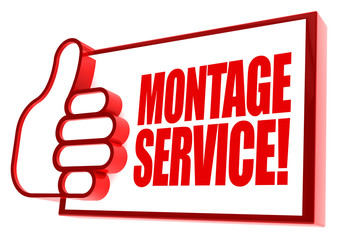 Montageservice! Button, Icon