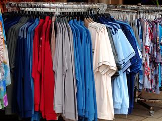 Textilienverkauf