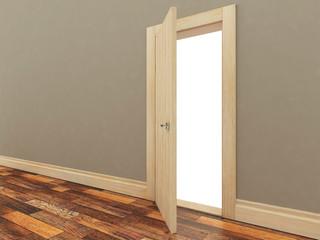 Doors in the interior.