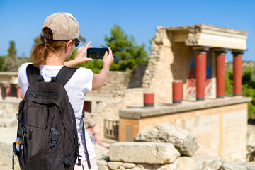 The palace of Knossos, crete