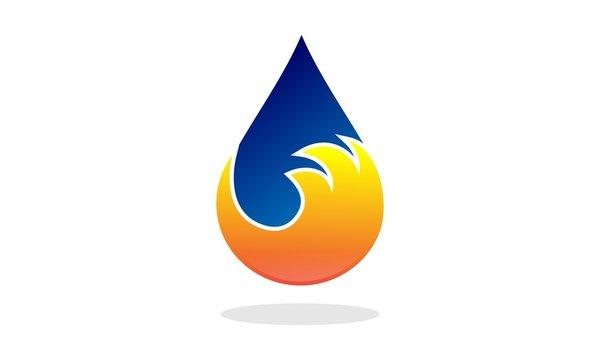 Plumbing Fire Logo