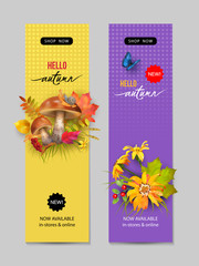 Autumn Advertising Banner