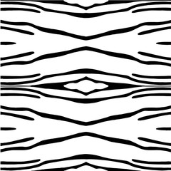 zebra illustration black