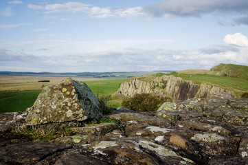 Hadrian's Wall and Whin Sill