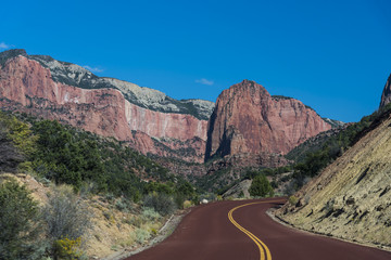 Zion National Park Road