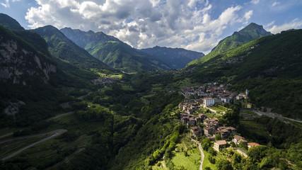 Fotobehang Chinese Muur Landscape of Tenno