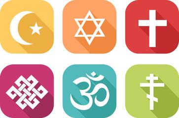 Icône des différentes religions