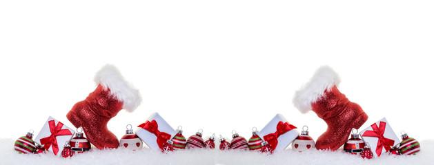 Nikolaus Karte Weihnachten Geschenke