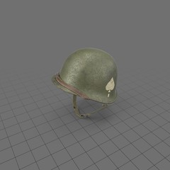 Airborne division military helmet 3