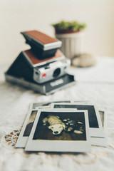 Vintage  photos and camera
