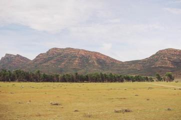 Landscape images of Flinders Ranges, South Australia