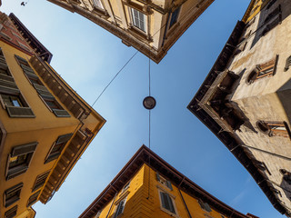 Verona view to the sky