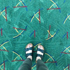 """it's hard to avoid if you're scrolling through Instagram.""""""""ortland's PDX airport carpet is one of the biggest sensations on the int"""""""