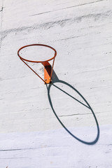 Basketball Hoop in the Street