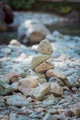 River Rocks Vertical