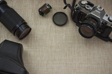 Vintage Camera and Equipment