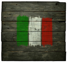 Wall Mural - italienische flagge
