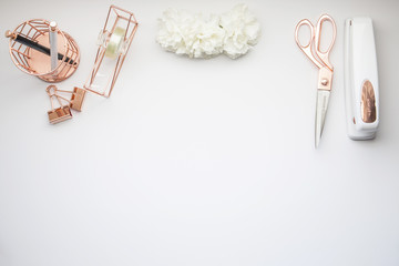 Rose Gold / Peach Mockup