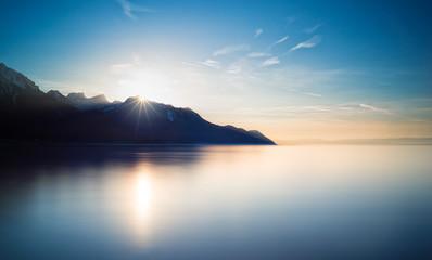 The Calm of Lake Geneva