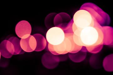 Bokeh light purple out of focus blur background.